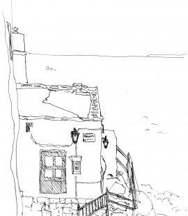 カストロ、マルガリータ亭からの眺め